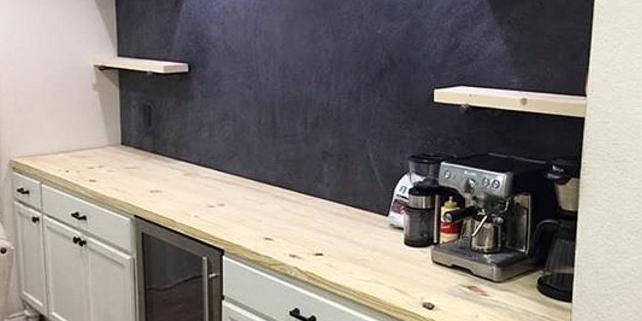 a newly remodeled kitchen